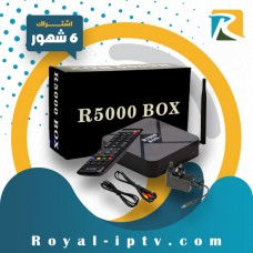 Royal Receiver R5000-HD With 6 Month