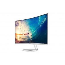 Samsung Monitor 27 inch Curve & white FHD Silver F591