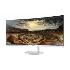 Samsung Monitor 34 inch Curve & white 4k 1500R 100Hz 4Ms F791