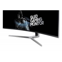 Samsung Gaming Monitor 49 inch Curve 32:9 Ultra Wide 1Ms 144Hz Charcoal Black HG49