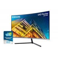 Samsung Monitor 32 inch UHD Curve Dark blue Gray R59